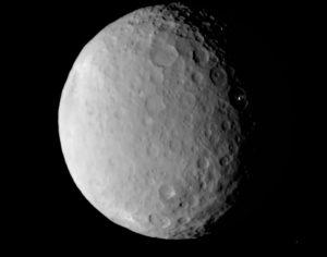 Color del planeta Ceres