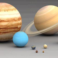 ¿Cuanto miden los planetas?