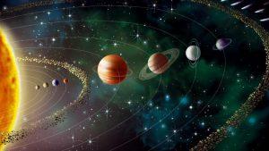 Tamaño de planetas telúricos frente a gaseosos o jovianos