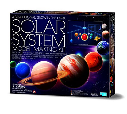 Movil sistema solar 3d