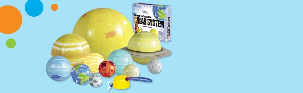sistema solar hinchable