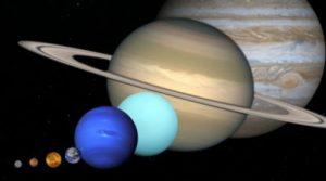orden de los planetas del sistema solar