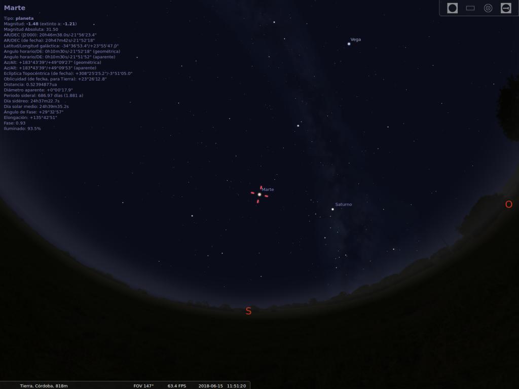 como ver Marte