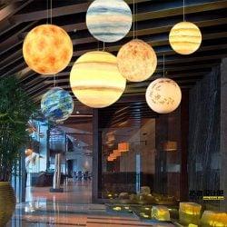 lampara de planetas del sistema solar