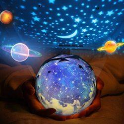 Lampara proyector de planetas