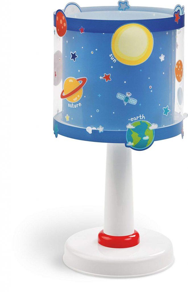 lampara de sobremesa planeta