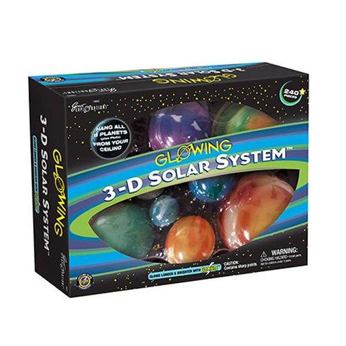 Sistema solar 3d colgar del techo
