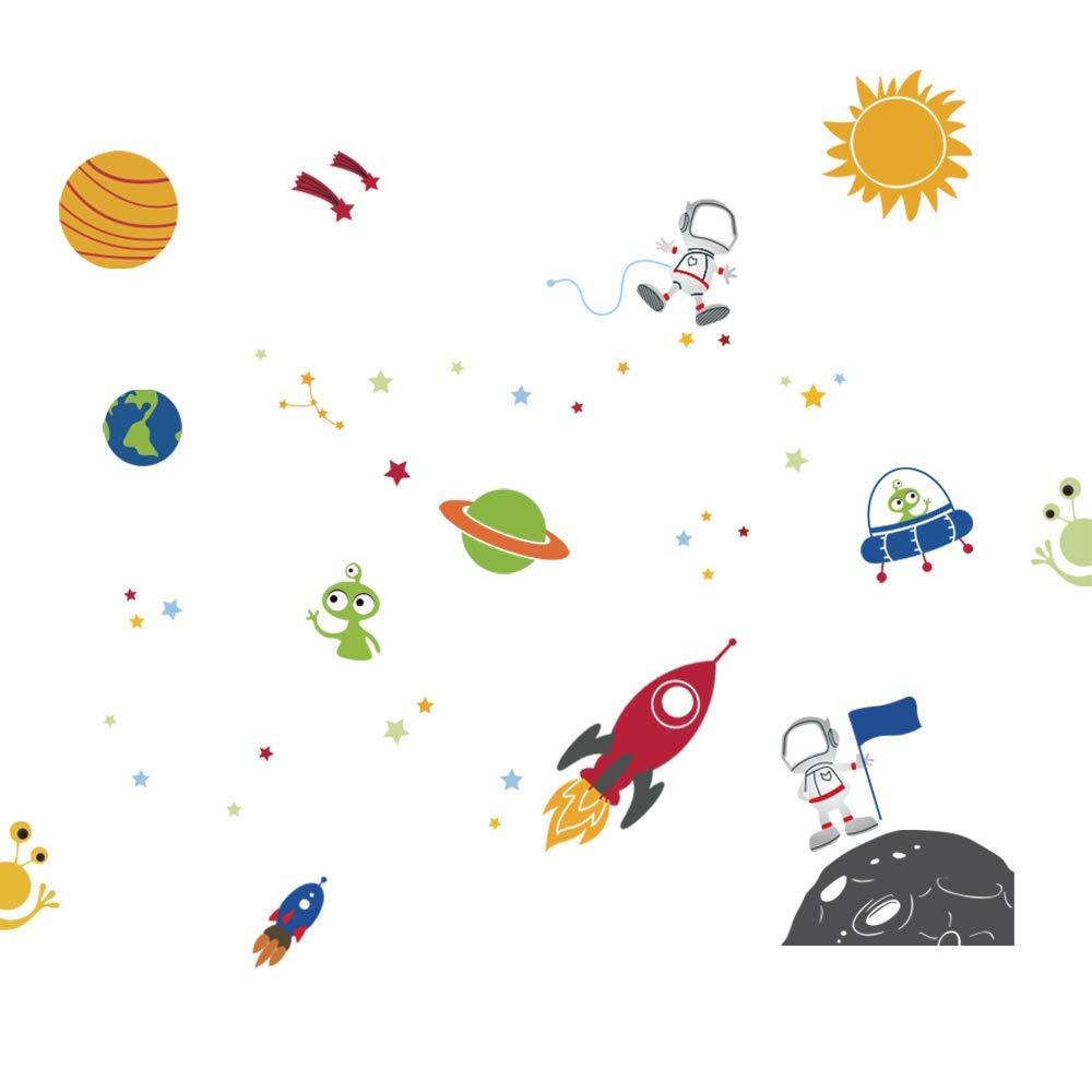 Vinilo espacio y planetas