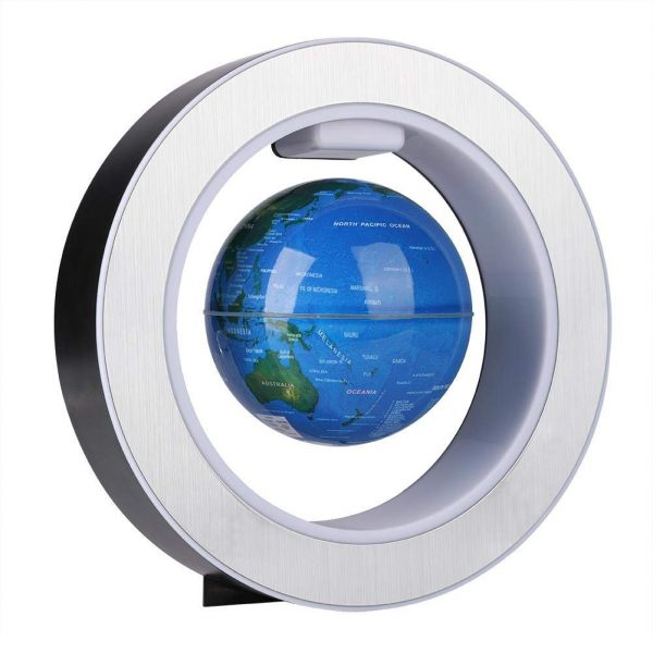 Lampara Planeta tierra flotante