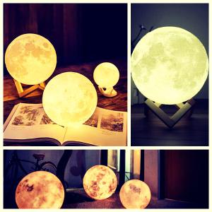 lampara de luna llena