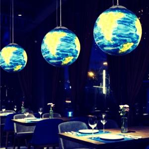 lámparas de planetas